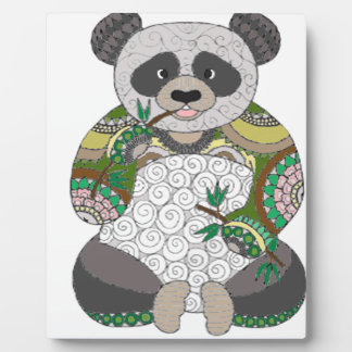 Panda Bear Plaque