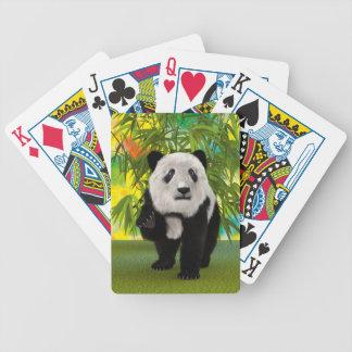 Panda Bear Poker Deck