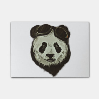 Panda Bear Post-it Notes