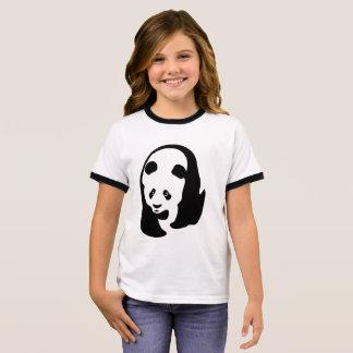 Panda Bear Ringer T-Shirt