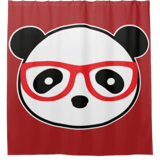 Panda Bear Shower Curtain - Home Decor