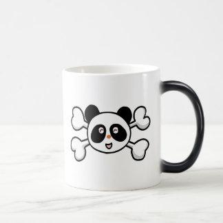 panda bear Skull and Crossbones Coffee Mug