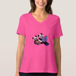 Panda Bear Storytime T-Shirt