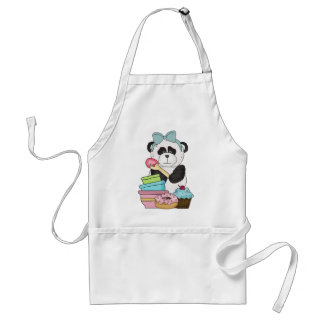 Panda Bear Sweet Treats Standard Apron