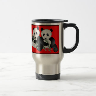 Panda Bear Travel Mug