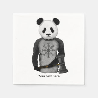 Panda Bear Viking Paper Napkins