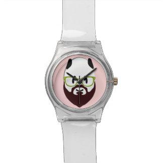 Panda Bear with a Beard Wrist Watch