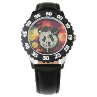 Panda Bear with Bokeh Art Watch
