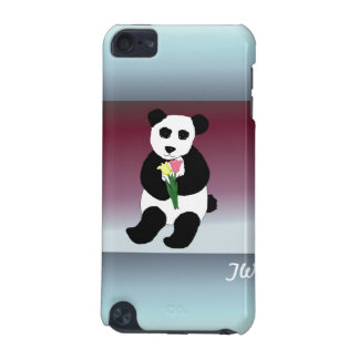 Panda Bear with Flowers iPod Touch 5G Case