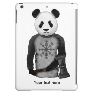 Panda Bear With Viking Hammer iPad Air Cover