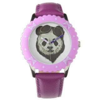 Panda Bear Wristwatch
