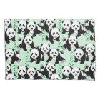 Panda Bears Design Pillowcase