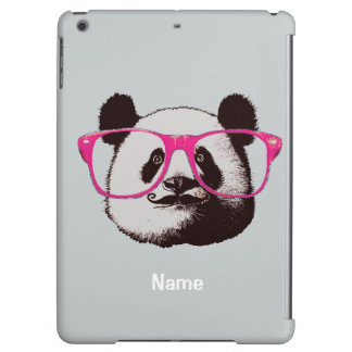 Panda Bears Gifts for Girl Add Name To personalize Cover For iPad Air