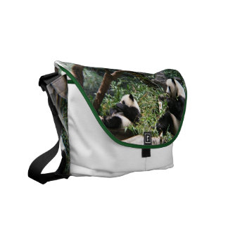 Panda Bears Messenger Bag