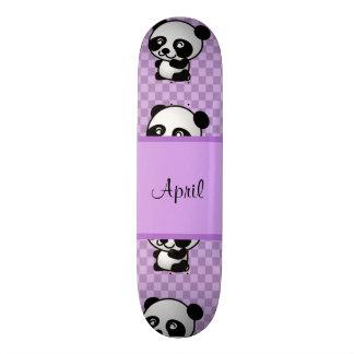 Panda Bears Skateboard Deck