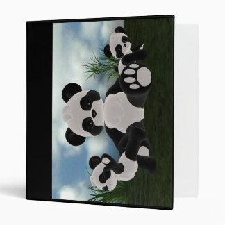 Panda Bearz Sunny Day Binder