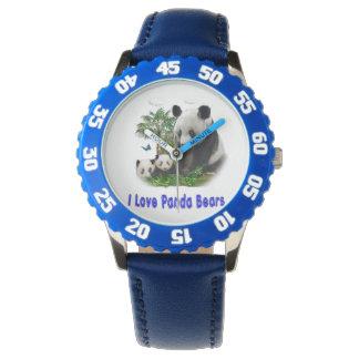 panda beras wrist watch