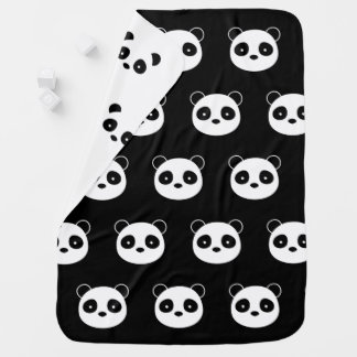 Panda Blanket, Bedroom decor Baby Blanket