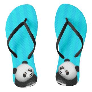 Panda Bon Bon Slim Straps Flip Flops
