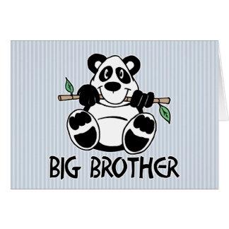 Panda Boy Big Brother Greeting Cards