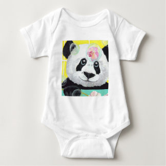 Panda Bubbles Baby Bodysuit