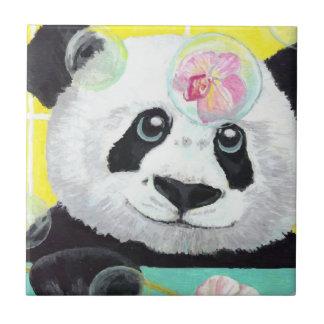 Panda Bubbles Tile