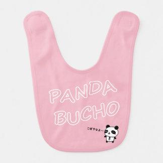 PANDA BUCHO BABY BIB 2face