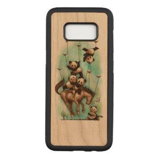 Panda Carved Samsung Galaxy S8 Case