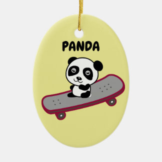 Panda Ceramic Ornament