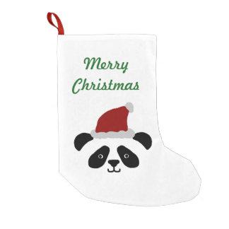 Panda Christmas Stocking Small Christmas Stocking