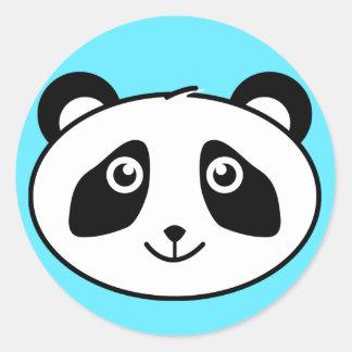 Panda Classic Round Sticker