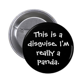 Panda Costume Pin