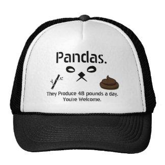 Panda Crap Trucker Hat