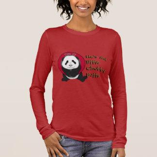 panda cub2, He's mylittleChubbyButts, He's myli... Long Sleeve T-Shirt