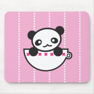 Panda Cup Mouse Pads