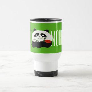Panda Cute Funny Romantic Cartoon Good Morning Travel Mug