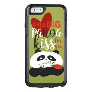 Panda Cute Romantic Love Illustration OtterBox iPhone 6/6s Case