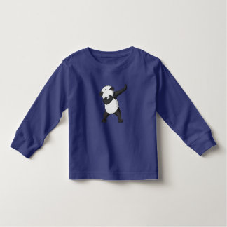 panda dab toddler t-shirt