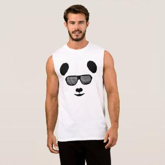 Panda Dance Music PDM PLUR EDM Festival Sleeveless Shirt