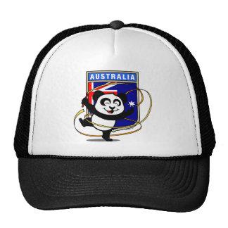 Panda de gymnastique rythmique de l'Australie Casquette De Camionneur