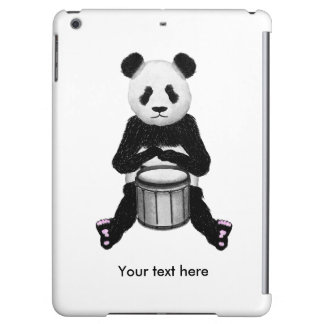 Panda Drumming iPad Air Covers