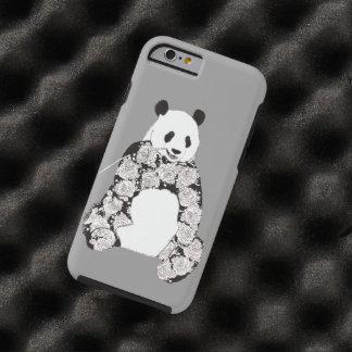 Panda Eating Bamboo Illustration Tough iPhone 6 Case