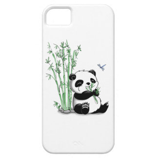 Panda Eating Bamboo iPhone 5 Cover
