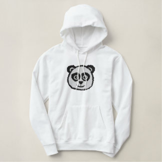 Panda Embroidered Hoodies