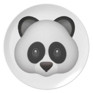 Panda - Emoji Dinner Plates