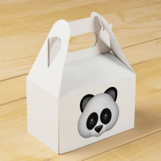 Panda - Emoji Favor Box