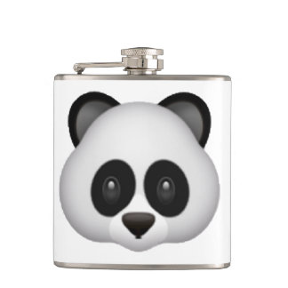 Panda - Emoji Hip Flask