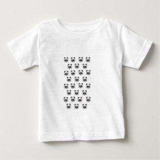 Panda Emoji in Glitter Baby T-Shirt