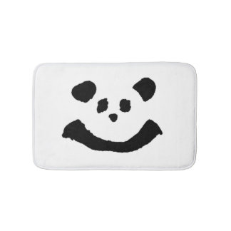 Panda Face Bathroom Mat