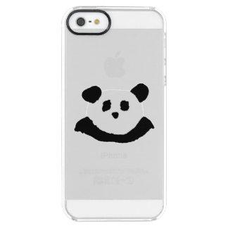 Panda Face Clear iPhone SE/5/5s Case